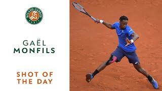Shot of the Day #5 - Gaël Monfils | Roland-Garros 2019