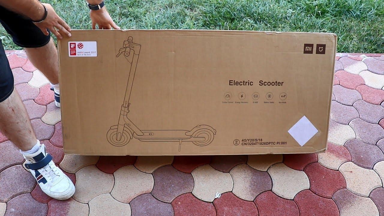 xiaomi m365 elektromos roller magyar kicsomagol s. Black Bedroom Furniture Sets. Home Design Ideas