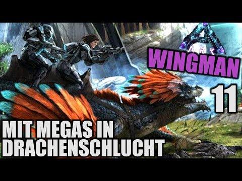 Mit Megas in Drachenschlucht! - ARK WINGMAN ABERRATION - 11 - | Let's Play Deutsch (Speed PvP)