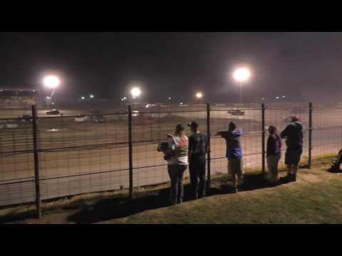 070116 Fayette County Speedway Pro 4 Heat 1