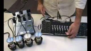 DMX Controller and DMX Dimmer Pack