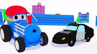 Полицейская машина - учимся вместе с поездом Тедом