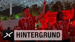 Ribéry, Müller und Co. feiern mit den Chinesen in Shanghai | FC Bayern | Audi Summer Tour 2017