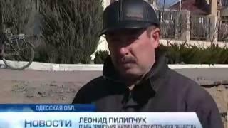 В Ильичевске оползень разрушает жилые дома
