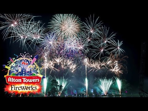 Alton Towers Ultimate Firework Spectacular 2017 HD 60FPS