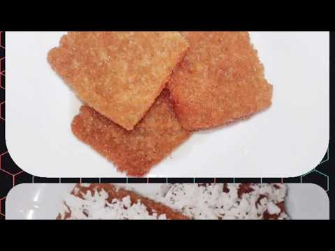 Leftover sugar syrup recipe | Sweet Bread Coconut | Quick sweet recipe | Kids special
