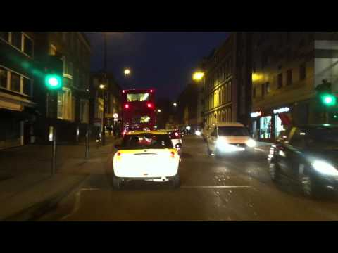 London streets (240.) - Stacey Ave (N18)  - King's Cross - Victoria Embankment