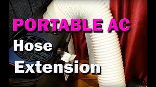 Taşınabilir Klima AC Egzoz Hortumu Uzatmak için nasıl
