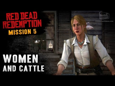 Red Dead Redemption – Mission #5 – Women and Cattle (Xbox One)