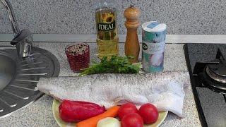 Как приготовить крупную фаршированную щуку в духовке(В данном видео мы будем готовить очень крупную фаршированную щуку с начинкой в духовке. Для приготовления..., 2015-11-19T09:02:28.000Z)