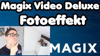 MAGIX Video Deluxe Tutorial Fotoeffekt | Foto während eines laufenden Videos machen