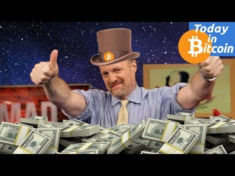 Today in Bitcoin (2017-08-16) - Jim Cramer: Bitcoin could reach $1 Million Dollars