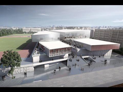 Futur Parc Municipal des Sports d'Issy-les-Moulineaux