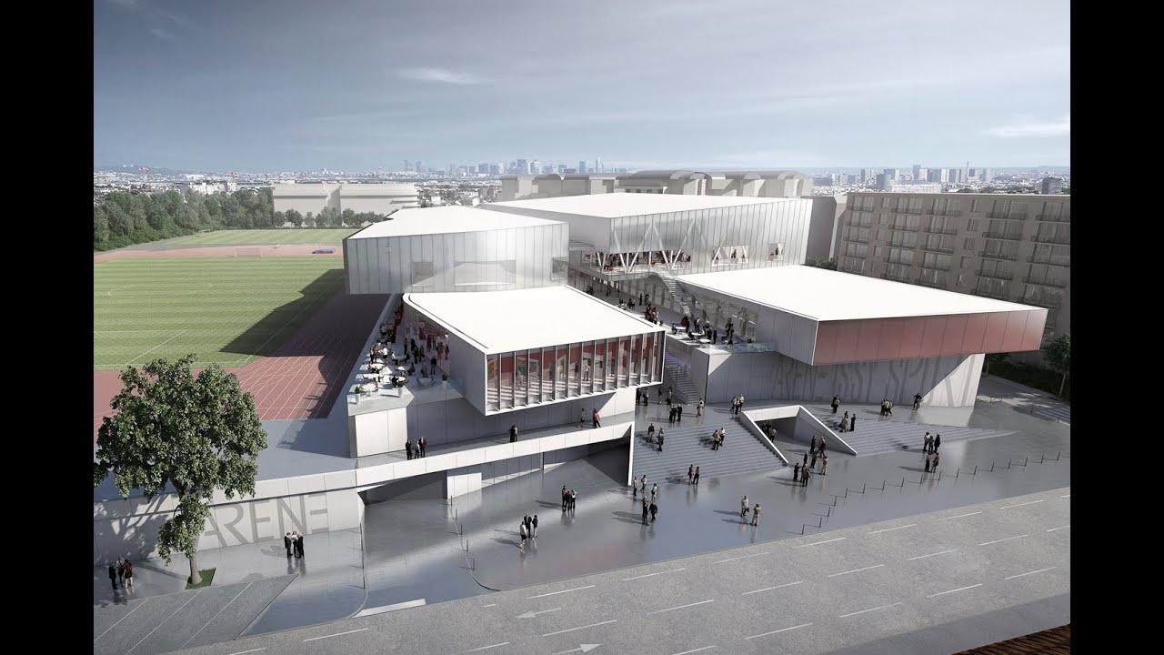 Futur parc municipal des sports d 39 issy les moulineaux for Piscine d issy les moulineaux