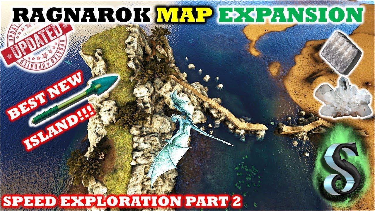 NEW RAGNAROK MAP EXPANSION - BEST NEW ISLAND E2 - SPEED
