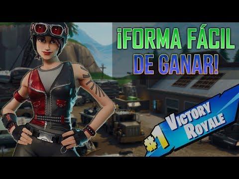 Fortnite   �UNA FORMA F�CIL DE GANAR PARTIDAS!