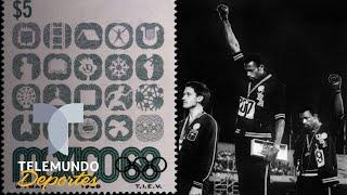 el polémico saludo de poder negro nbc deportes nbc deportes