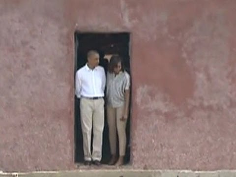 Obama visits Goree Island, a slavery site with disputed importance