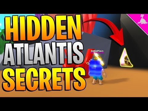 ATLANTIS AND DINO LAND SECRETS IN ROBLOX MINING SIMULATOR!
