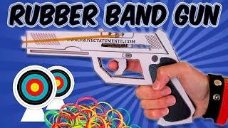 How to Make a Rubber Band Gun Cardboard