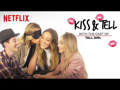 Tall Girl Cast Plays Kiss & Tell | Netflix