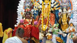 Ayi giri nandini Ramakrishna Mission prayer during durga puja