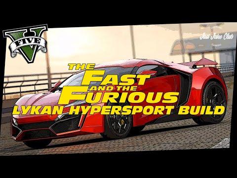 FURIOUS 7 LYKAN HYPERSPORT CUSTOM CAR BUILD TUTORIAL: GTA 5 ONLINE (REAPER)