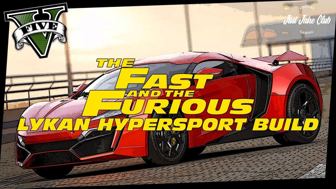 Furious 7 Lykan Hypersport Custom Car Build Tutorial Gta 5 Online Reaper