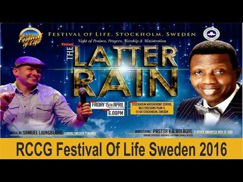 RCCG FESTIVAL OF LIFE SWEDEN 2016