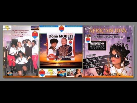 Dona Mobeti,Papa Wemba,Nyboma (Chérie Kadetti) & American-cd (Village-Dance)