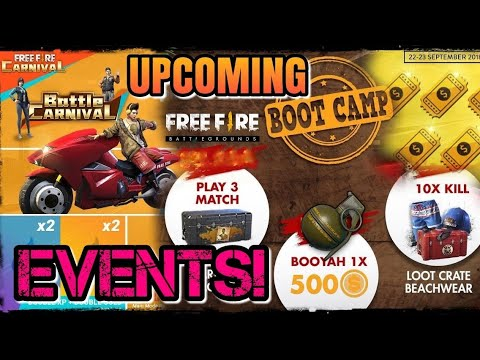 FREEFIRE BG UPCOMING EVENTS! NEW GAME MOD & VEHICLE IS COMING IN BATTLE CARNIVAL FOR US?? CHECK OUT!