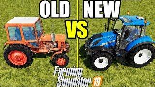 Farming Simulator 19 : OLD vs NEW    Farm Technology Comparison
