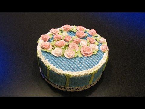 Бисквитный торт на крестины. Вкусный крем для торта. Крем шарлот. Украшение белковым кремом.