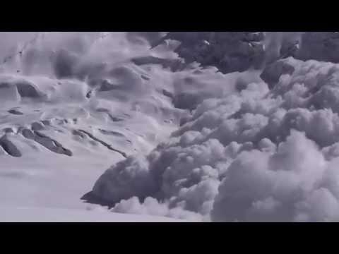 Avalanche on Annapurna