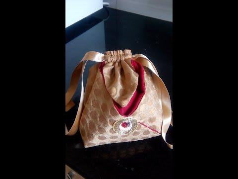 57-Women's Day special 'Draw String Bag'(Hindi/Urdu)