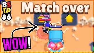 Most UNLUCKY GAME EVER?! 1 HEALTH! Brawl Stars Top Plays #86