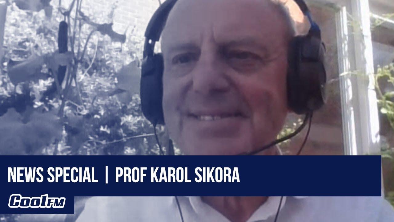 Twitter's 'Positive Professor' Karol Sikora talks 2nd COVID-19 wave, NI's  progress | Full Interview - YouTube