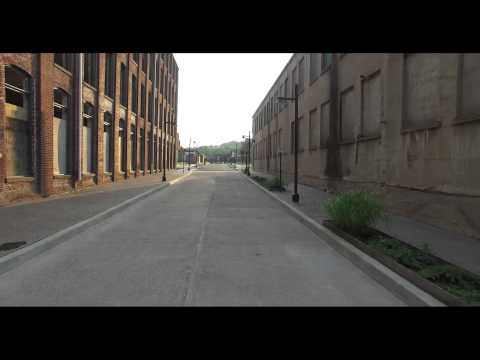 WATCH: Drone's-eye view of Easton's Silk Mill project