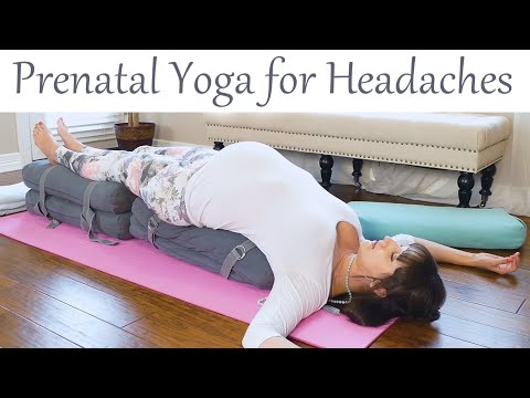 Migraines & Tension Headache Relief: Prenatal Yoga, Tips & Self Massage with Kelsy Livic