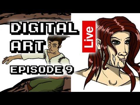 Digital Art Live Episode 009 - Running on Pepsi max