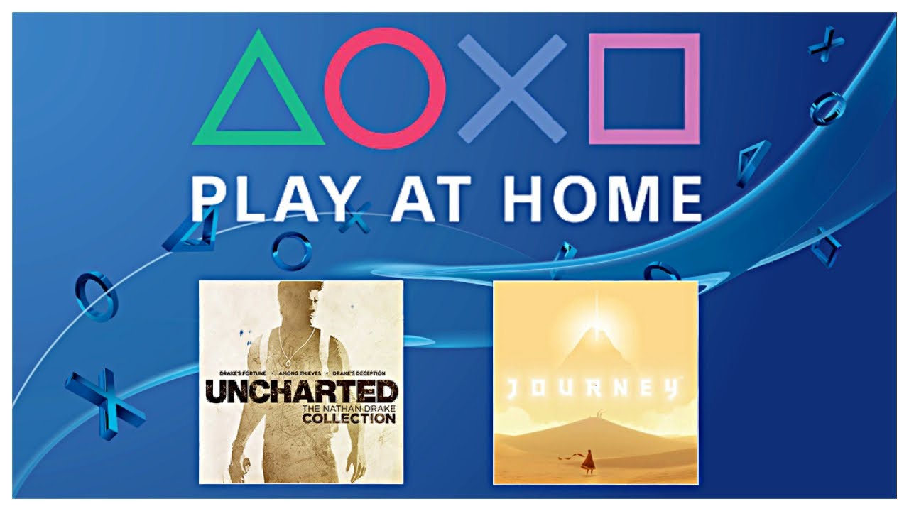 Play At Home Free Ps4 Games Nathan Drake Collection Journey Youtube