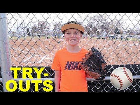 LITTLE LEAGUE Baseball Tryouts ⚾️ Pinto League