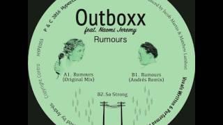 Outboxx Ft. Naomi Jeremy - So Strong (Hypercolour)