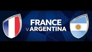 FIFA 18 - World cup (Osmifinále) - Francie vs. Argentina