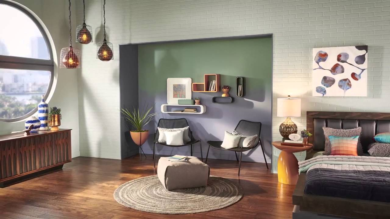 Interior Paint Color Living Room Behr 2016 Color Trends The Structure Of Color Youtube