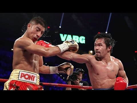 Manny Pacquiao Defeats Jessie Vargas - Rematch with Floyd Mayweather Jr. Next?