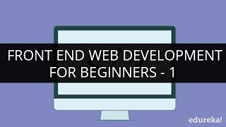 Front End Web Development Tutorial Videos