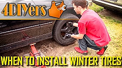 When to Remove or Install Winter Tires