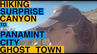 Hiking Up Surprise Canyon to Panamint City Ghost Town