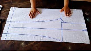 Women pant | capri pant cutting and stitching | ladies pant cutting